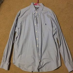 Ralph Lauren collared long sleeve